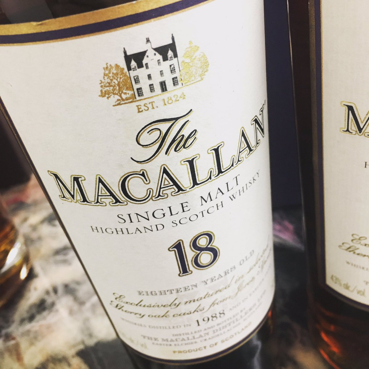 Thank you for selling us 1988 #macallan 18 Year Old #sherryoak #scotch #Whisky today!  Contact us when you're ready to sell your #whisky! sales@tkwine.com  #sellwhiskey #tkwine #torrance #losangeles https://t.co/PIMGPe84z0