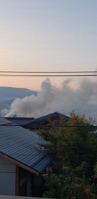 市 火事 松本