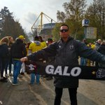 Image for the Tweet beginning: #tbt MATCHDAY⚽ 🍺🇩🇪  #GaloPeloMundo #Galo @Atletico  #Westfallenstadion #TheTemple #SignalIndunaPark