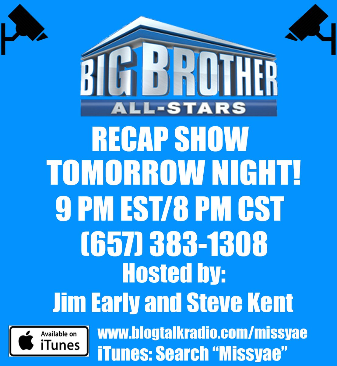 WE ARE LIVE!! @TheGameSurvivor presents the FINALE edition of the #MissyaePodcast: #BB22 Recap Show! Who will take home the grand prize and title of the newest #BigBrother winner? #BBFinale #BigBrother22 #BigBrotherWhispersFacebook #BBLF #CBS https://t.co/MPwcBJgtIv https://t.co/sxrDdT9iJv