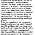 Image for the Tweet beginning: #cannabis can treat!! #CannabisCommunity #cannabisculture