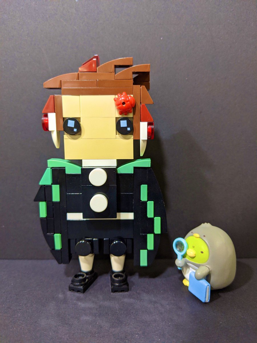 #竈門炭治郎 🌊⚔️🔥 #鬼滅の刃 #鬼滅の刃無限列車  #すみっコぐらし #すみっコ写真部 #LEGO  #レゴ #AFOL #樂高  #legoideas  #ガチャガチャ #rement  #bandai #バンダイ #HALLOWEEN @sumikko_mobile @LEGOIdeas @kimetsu_off https://t.co/u26Z3Kc4Cm