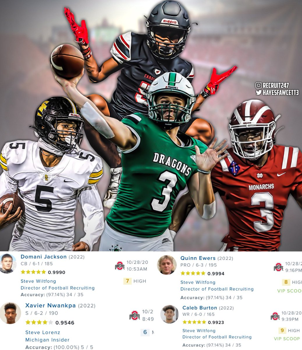 It's been a crazy 24 hours for news pertaining to the Class of 2022, specifically Ohio State. When it's all said and done, will the Buckeyes land all four?🤔