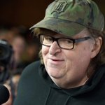 Image for the Tweet beginning: WATCH: Michael Moore warns the