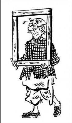 My Morning staple @TOIIndiaNews. The silent, incidental, dhoti-clad common man as spectator or subject, straight out of great cartoonist #RKLaxman's genius blend of humour & uncommon sense to address common man's bewilderment. Enjoy his #HeForShe take on women as more than equal! https://t.co/w3zwRzmBbp