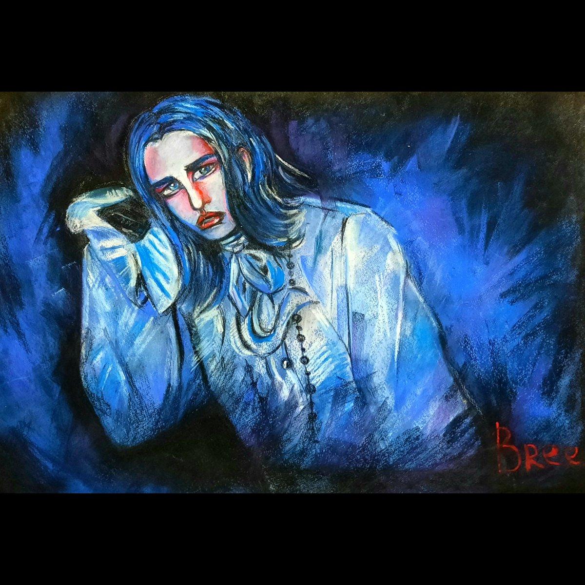 The God of cosplay @victorlockhartx 💅 🌈Dry pastel, 90*60 Please,  follow my instagram➡️ https://t.co/B9hykjU6Zv #cosplay #fanart #pastel #traditionalart #digitalart #drawing #portrait https://t.co/qADur0XcOf