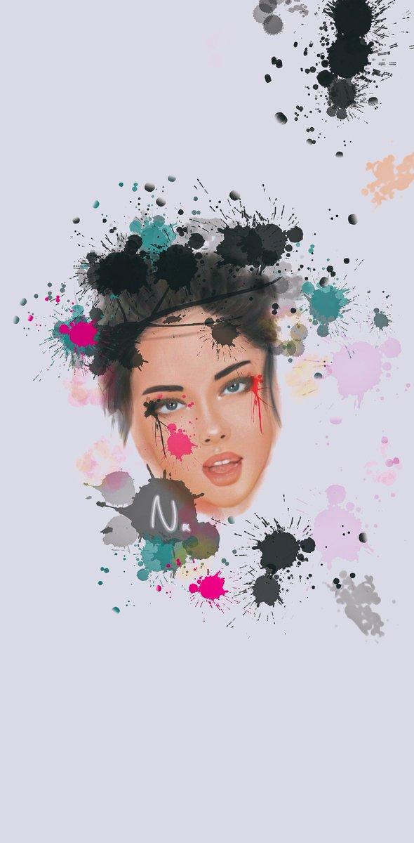 Quand les insomnies te lâche pas, tu dessine sur ton tel 🤷♂️ Après avoir lâcher je trouve que je m'en sort pas encore trop mal 😂  #drawing #GalaxyNote10 #painting #dessin #Artistic #PrettyFace https://t.co/nUrFng1rNb
