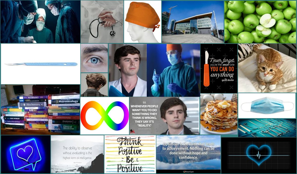 #FanArtFriday #Remake Extended aesthetic board for one of my favorite fictional characters, Dr. Shaun Murphy(#TheGoodDoctor). 😊😷🐱❤️🧡💛💚💙💜🍏 https://t.co/tfT5fnDepL