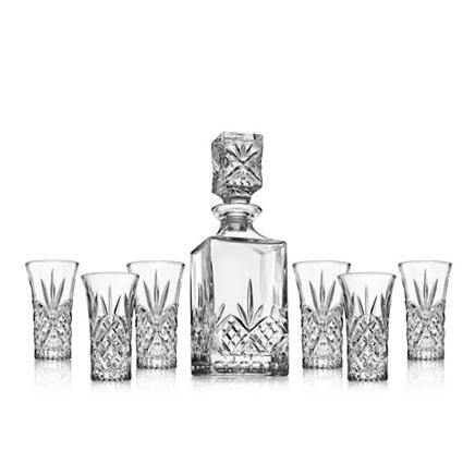 Godinger Dublin 7-piece decanter set for $16 - Clark Deals #clarkdeals #savemoney #macyscoupon #macyssale #macysclearance #dealoftheday #decanterset #giftidea #whiskey #moneymoves #bar #thursdaythoughts https://t.co/NoAB9zxXlD https://t.co/HoufAUBrmz