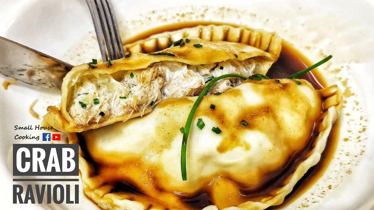 主菜篇|蟹肉意大利雲吞 - Homemade Crab Ravioli  教學 - How to do it on:  https://t.co/tx2Ak9XgRg  #Recipe #食譜 #美味 #美食 #YUMMY #deliciousfood #tasty #food #homemadefood #homecooking #cookingathome #foodie #foodpics #hkfoodie #foodblog #foodblogger https://t.co/87hZoFxIRP
