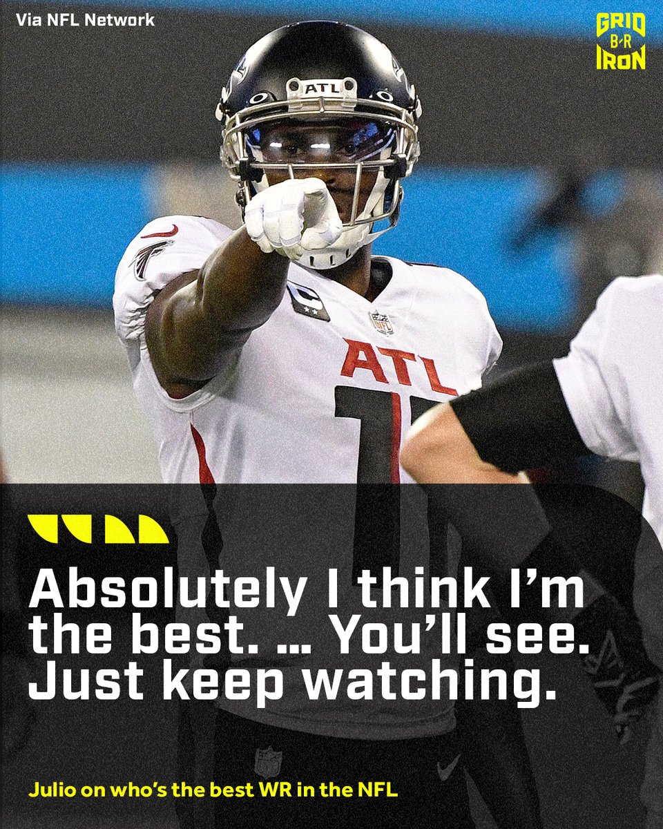 Julio believes he still got the crown 👑 https://t.co/c3FkynifFD