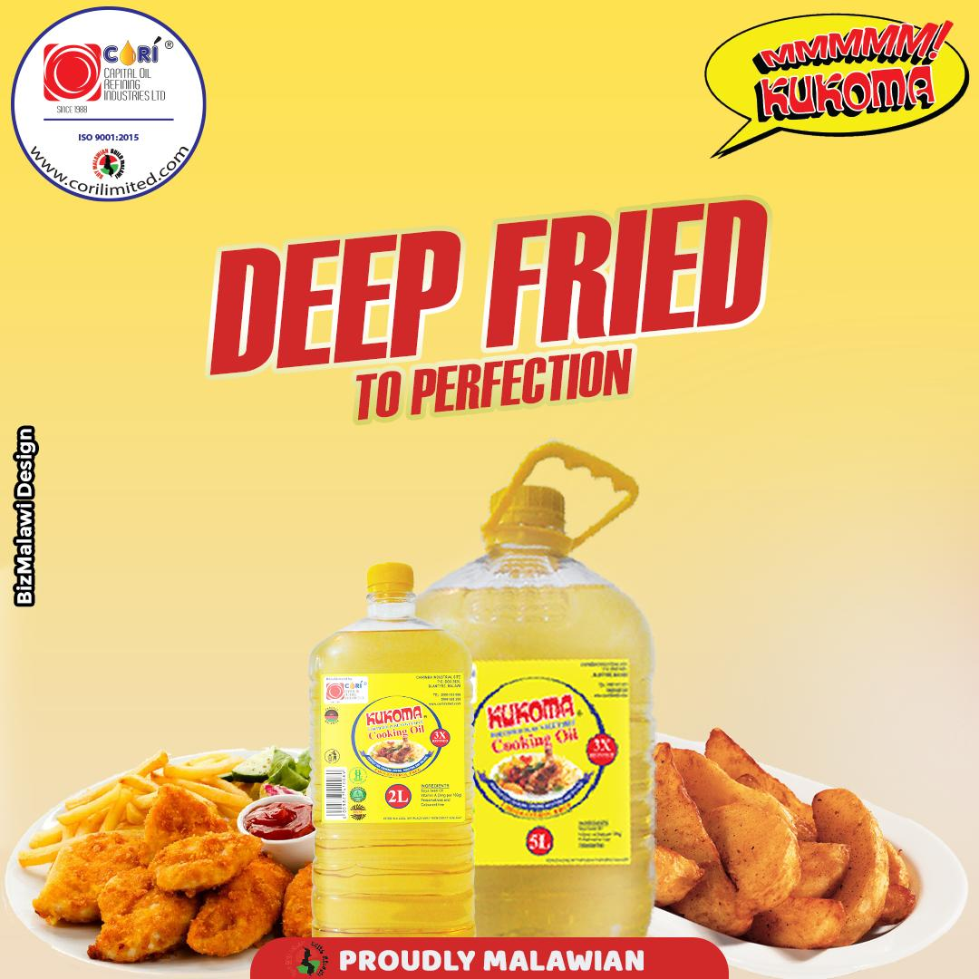 Who else is craving fried chicken?  More Info :- https://t.co/wJhEWq9JLR  #Kukoma #ProudlyMalawian  #Cooking #CookingOil #Oil #delicious #Recipes #foodblogger #chef #foodlover #cook #dinner #Lunch #healthyfood #tasty #Malawi #Blantyre #Lilongwe #Mzuzu #Mangochi #Zomba #BizMalawi https://t.co/LGoxwwd8rI