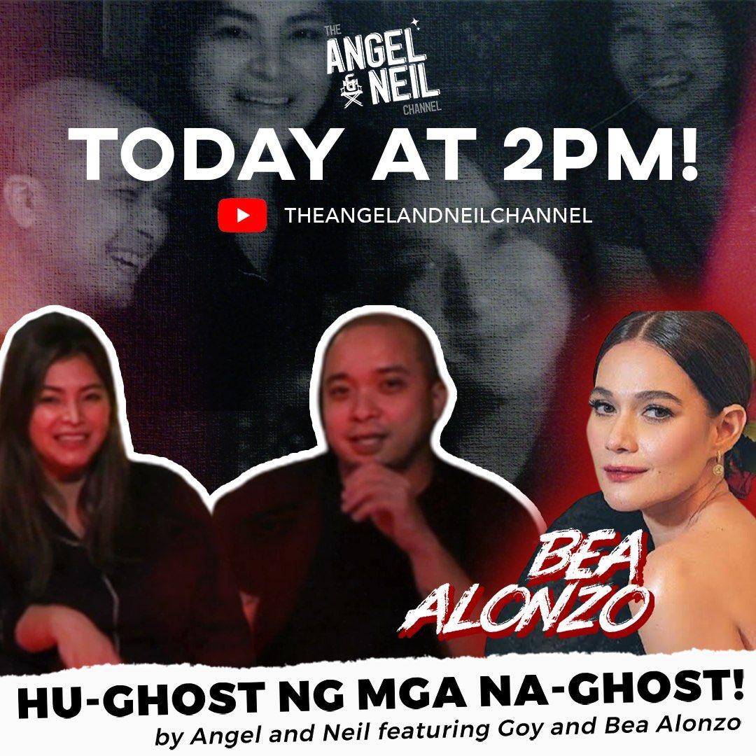 """New video is up now!   Ngayong darating na araw ng mga patay, tara ipag-tirik natin ng kandila ang mga naglahong parang multo 👻   With our resident """"ghostbuster"""" Ms. Bea Alonzo     #TheAngelandNeilChannel"""
