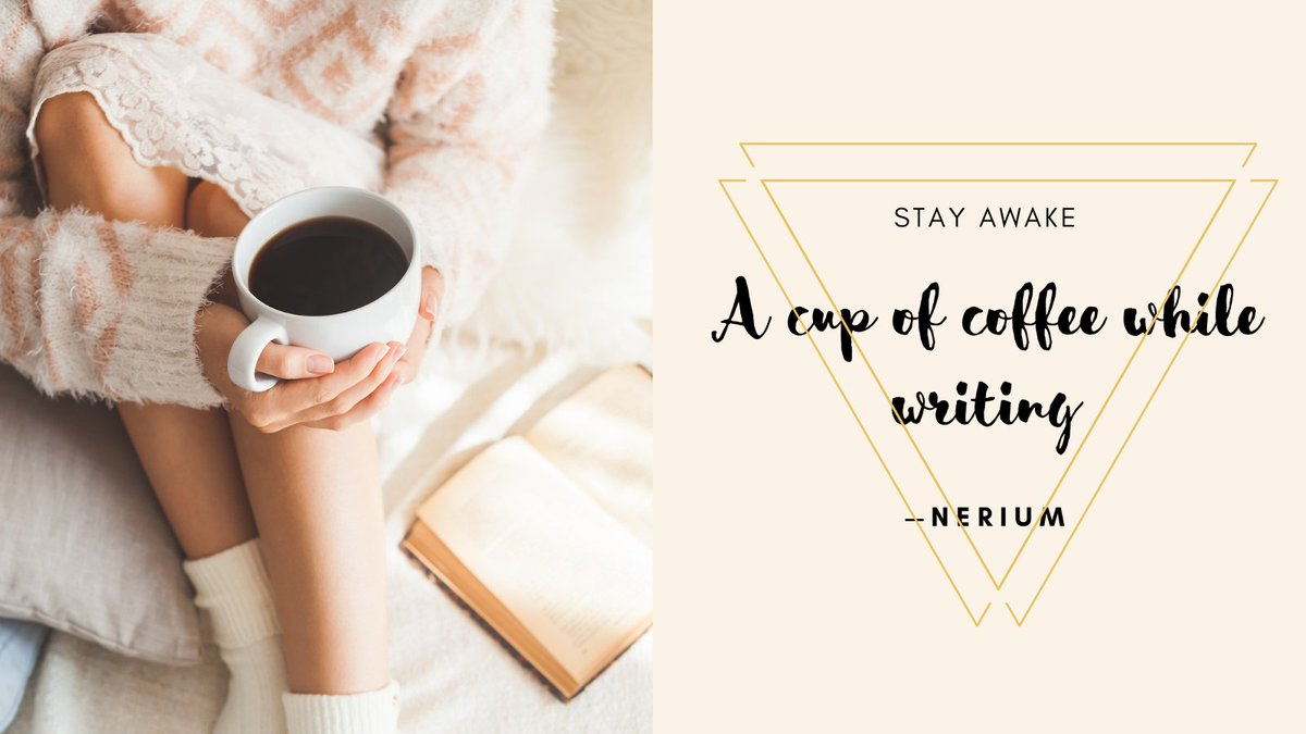 A cup of coffee while writing.  #amwriting #writerslife #coffee #books https://t.co/eANWK6SXei