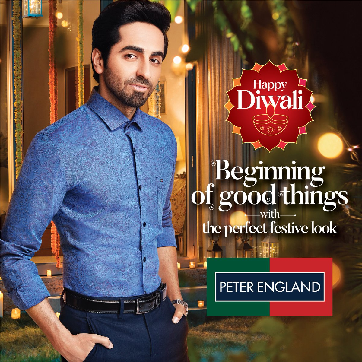 It's Diwali time! And here's a sneak peek of my perfect festive look from @PeterEngland_! Like it? Visit:   #PerfectFestiveLook #DiwaliWithPeterEngland