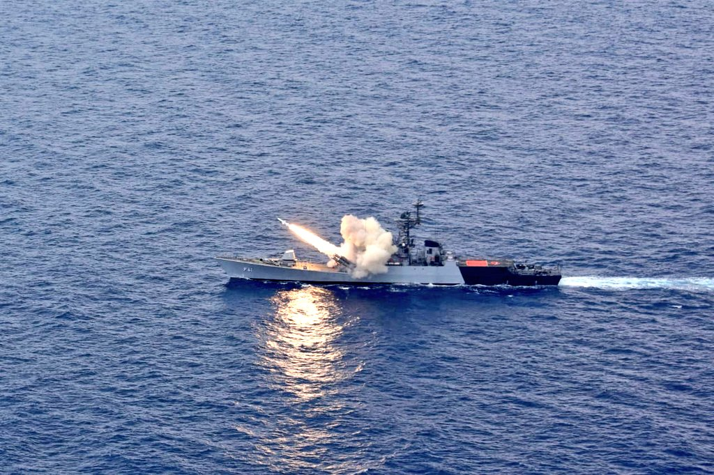 After Missile Corvette INS Prabal was test-fired in Arabian Sea, the Indian Navy test-fired Anti-Ship Missile Corvette, INS Kora.