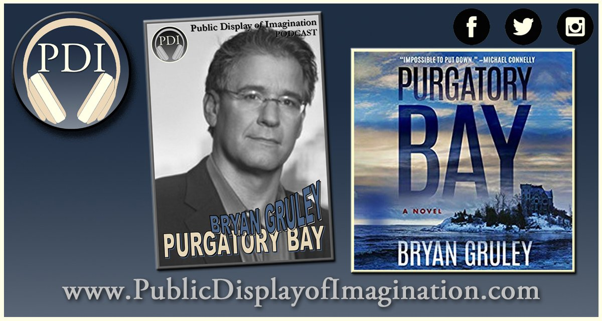 The life of a star student, bound for Princeton, crumbles when her parents are murdered. 12 years of anger plays out in Purgatory Bay. @BryanGruley explains on this #PDI #Podcast Adventure. Here's your Listen Link>> https://t.co/udAPPqAb6F  #WritersLife #AmReading #Thriller https://t.co/QuocDWKl1N