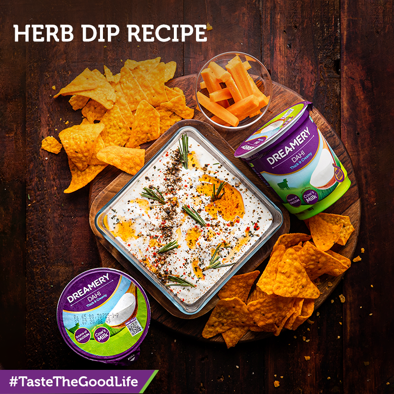 Last-minute family celebrations? This Sharad Purnima make this delicious herb dip recipe and have a great time with your loved ones #TasteTheGoodLife.  #dreamery #SharadPurnima #celebration #diprecipe #FoodieFriday #recipeoftheday #delicious #festiverecipes #tasty https://t.co/FKTJ7HOPv9