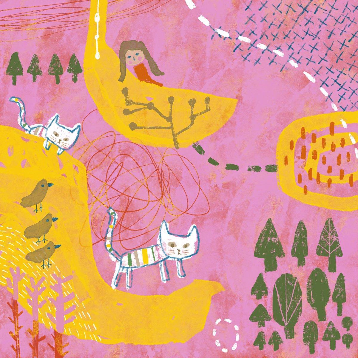 さ〜て、見回り行ってくるかにゃ☀️😾  #doodle #illustration #art #artist #artwork #painting #drawing #Procreate #digital #painter #picture #cute #cat #happy #peace #nature #animal #daily #journal #イラスト #落書き #絵 #猫 #ほっこり #アート #デジタル #自然 https://t.co/WA1S8xXdt6