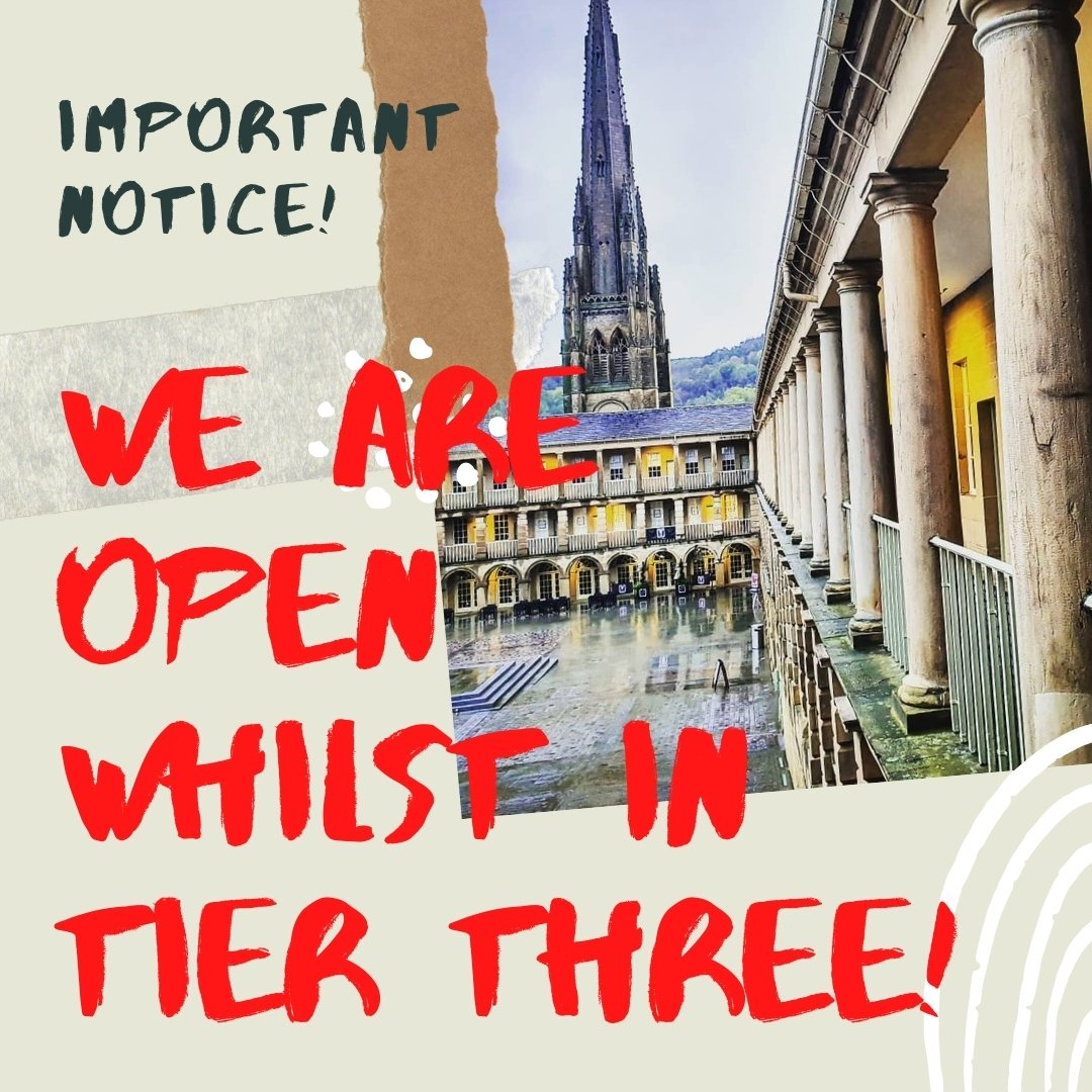 PLS RT! *IMPORTANT NOTICE* All retail shops will remain open whilst we are in tier 3. This morning we have had 3 messages saying Im so sorry you have to close again we just want to inform everyone that this is NOT the case for retail in tier 3, we are allowed to stay open.