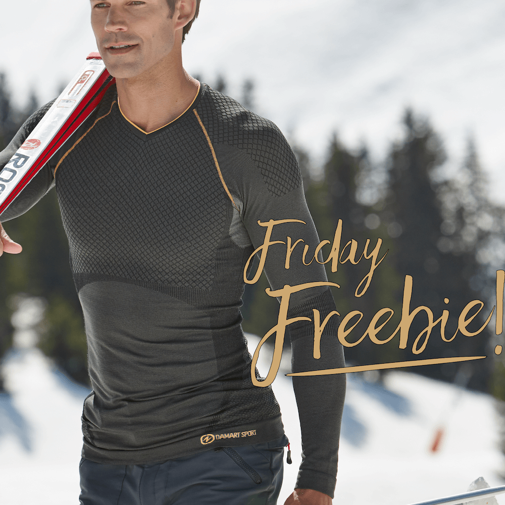 Its Friday Freebie time! #fridayfreebie Tell the weather whos boss! Retweet or comment for you chance to win this mens sport Tshirt, perfect for those winter runs! Cant wait to win? Shop now: bit.ly/34iuzsZ Ends 06/11 12pm. T&Cs: bit.ly/2d3zwey