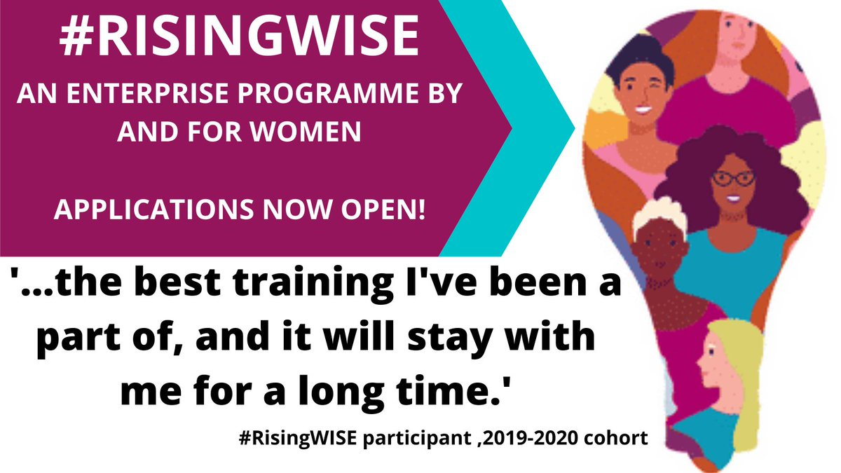 #RisingWISE programme now open for applications!   RisingWISE is a @mplsoxford Enterprising Women programme bringing together #women #researchers from Oxford and Cambridge to meet with women working in #industry who face similar challenges. #WomenInSTEM https://t.co/4urMpzfqcU https://t.co/Qq2Hj4OmFL