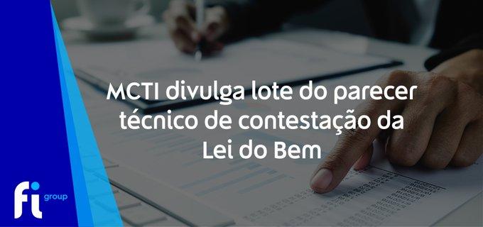 💡O Ministério da Ciência, Tecnologia e Inovações (MCTI) disponibilizou o 2º lote do Pare....
