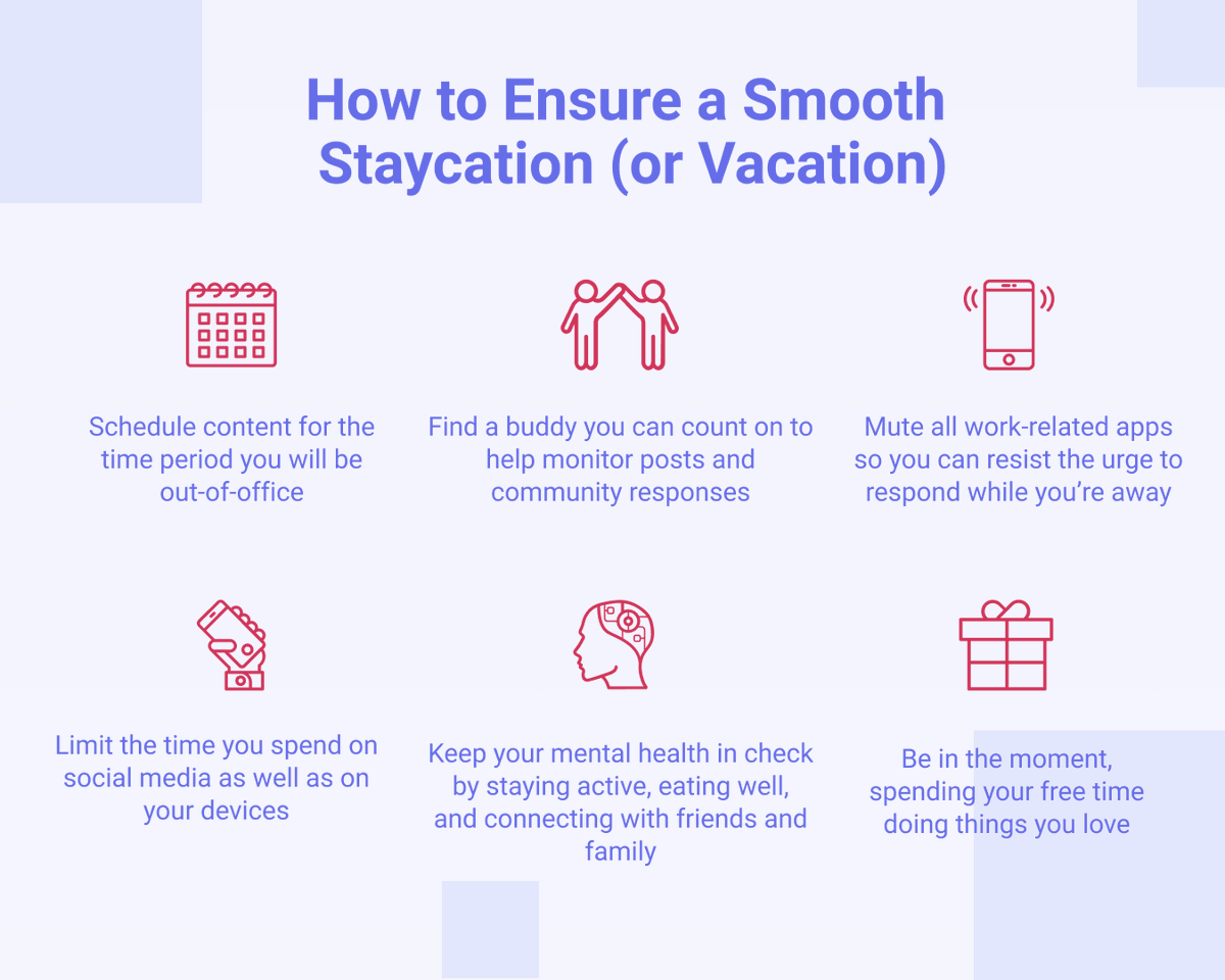 Even if a proper #vacation isn't in the stars for this year - we hope all fellow #socialmedia managers will be able to switch off work for a while 🔕  These are our 🔝 tips to recharge 👇 https://t.co/0HWbfqbSHc