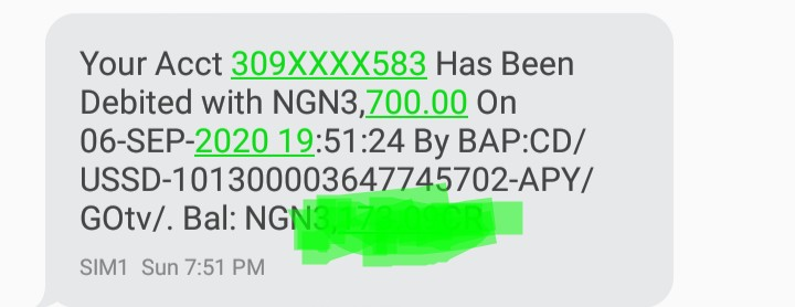 This is the proof of my transaction  Date - 6th september 2020 Iuc number - 2022594572 Payment method - Firstbank ussd code Subscription - GOtv-MAX Acount number: 3099472583 Name : Ezeilo Obinna Romain  Amount : 3700 @FirstBankngr  @GOtvNg  @SaharaReporters  @instablog9ja https://t.co/xB7Mtof7Qw