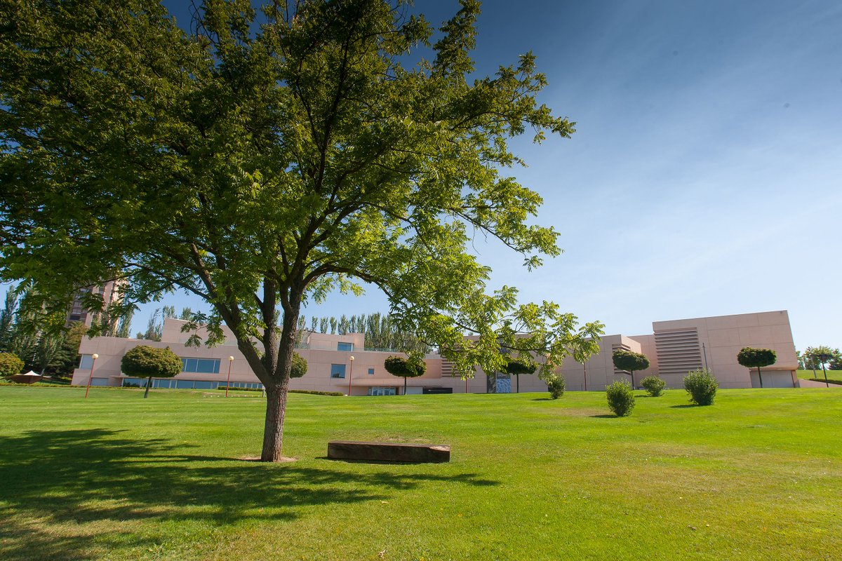 #AsómateAlMUN   Si este fin de semana disfrutas de las agradables temperaturas otoñales con un paseo por el campus @unav, anímate también visitar las nuevas exposiciones del Museo. Sábado, de 12 a 15 y de 17 a 20 h. Domingo, de 11 a 14 h➡️https://t.co/GcbbKoAfAu #CulturaSegura 🔝 https://t.co/3IjKjeYbkJ