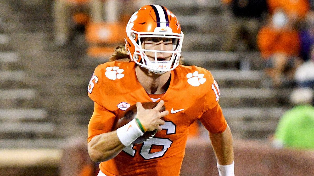 Clemson's Lawrence tests positive, out vs. BC https://t.co/3pABIcIxhd https://t.co/xsym5Z1mnW