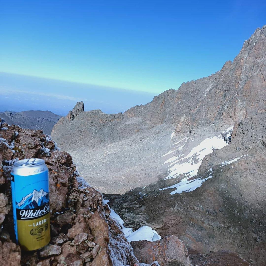 #MountKenyaExperience: White cap on white cap because it's Friday!  Photo Credit: Vivienne Ayuma  #WhiteCapLager #beer #beercan #MountKenya #mountainclimbing #mountaineer #climbing #trekking #mountainhiking #mountainclimbing #mountainstories #scenicviews #landscapephotography https://t.co/TKIZR48y2g
