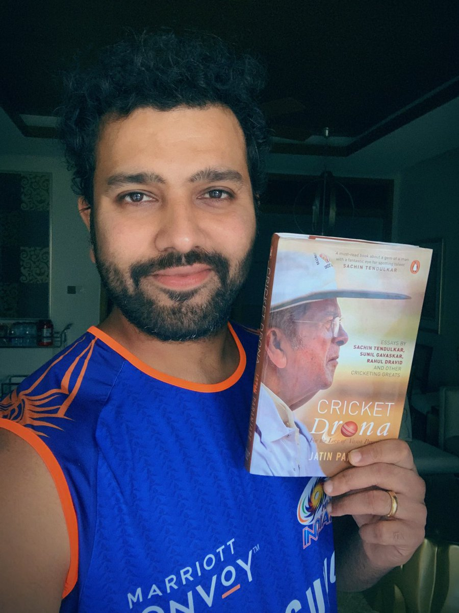 A must read book #CricketDrona about a great man in the cricketing fraternity. Vasu sir has been one of the influential people in my career in guiding me through the right path and giving me confidence in my younger days which helped me a great deal.