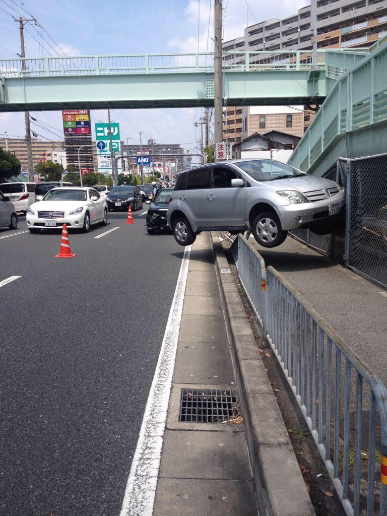 コラにしか見えない交通事故