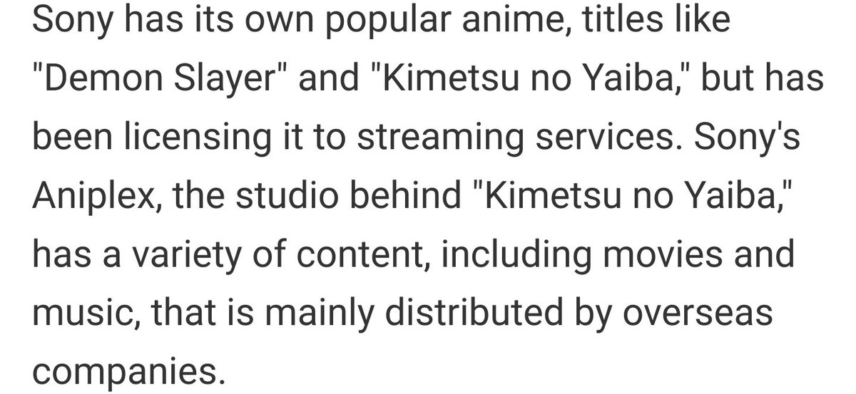 Ah yes, Demon Slayer, not to be confused with Kimetsu no Yaiba https://t.co/pqUmxC0Mk2