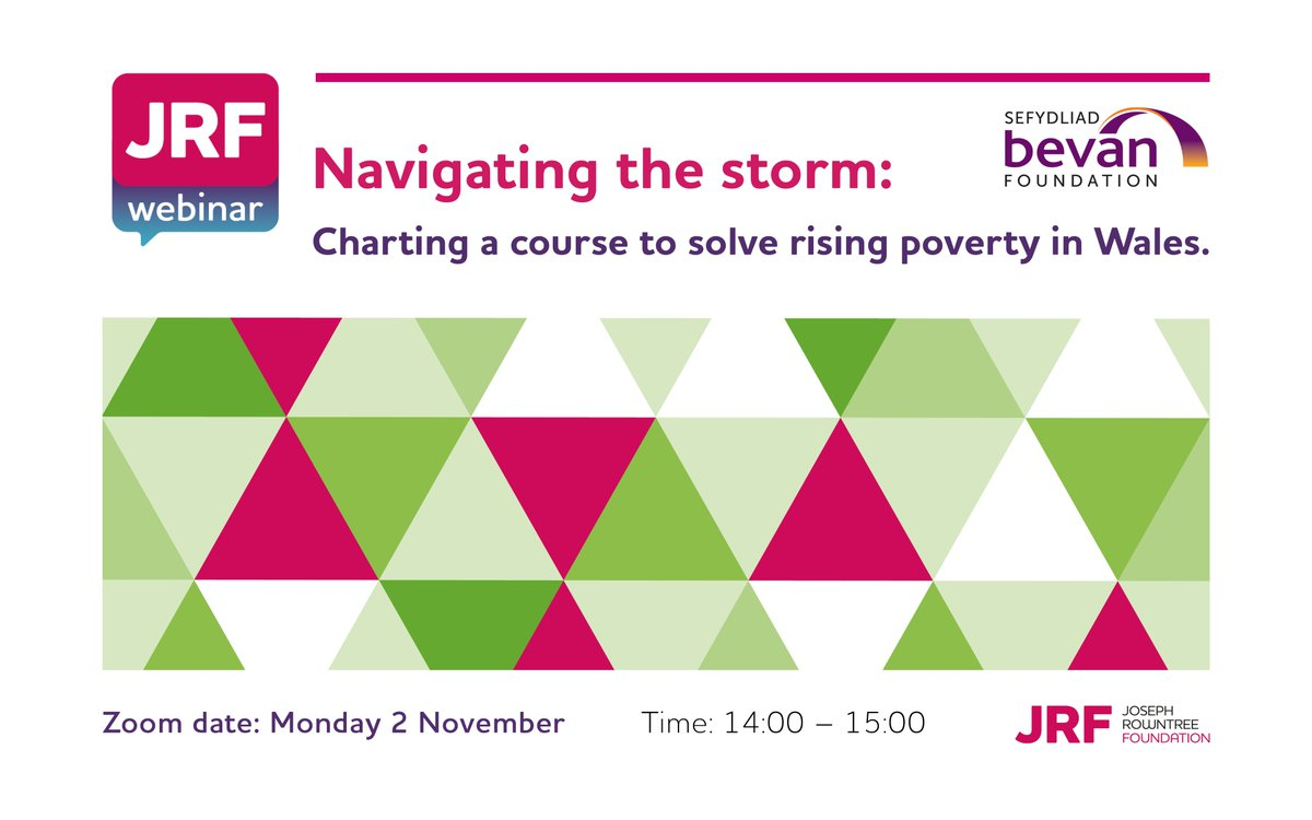 On Monday we release our state-of-the-nation report Poverty in Wales 2020. Join us, @BevanFoundation, and an expert panel chaired by @ITVCaroleGreen as we analyse the report's findings and discuss the interventions needed to provide stability for low-income families in Wales 👇 https://t.co/MJLxUVfYKC