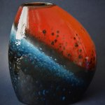 Image for the Tweet beginning: Poole Pottery Flare Asymmetrical Bean