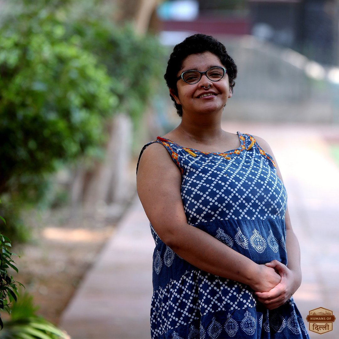 """The best way to understand different sexual identities is by talking to them -- and not by talking about them"".  Full story : https://t.co/rzLFOAY2pI  #HumansOfDelhi #pride2020 #lgbtq #loveislove #acceptance #equalitymatters https://t.co/YvqtlJXIs2"