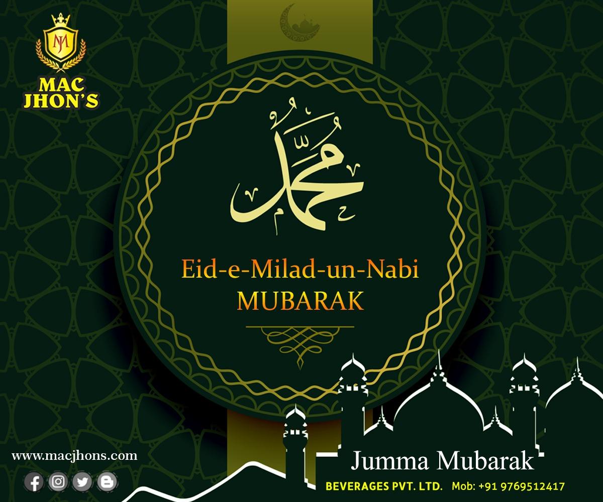 May Allah's blessings never stop shining upon you and your family! Wish you all a very Happy Eid-e-Milad un-Nabi   #eidemilad #muhammad #eidemiladunnabi #miladunnabiﷺmubarak  #eidemiladmumbai #islam #muslim #allah #muslimah #islamic  #ramadan #indonesia #dua #MacJhons https://t.co/rPZQX7nbxK