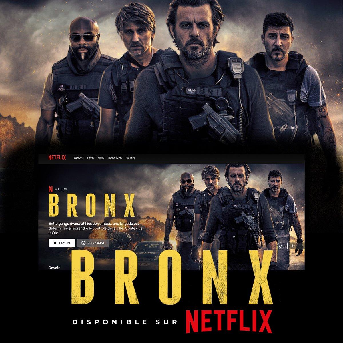 BRONX est disponible sur @NetflixFR  🔥🔥🔥🔥🔥🔥🔥🔥🔥🔥🔥 #bigkaaris #chefbandit #guerredesgangs #chaudbouillant #Bronx https://t.co/6GAjqpoYcc