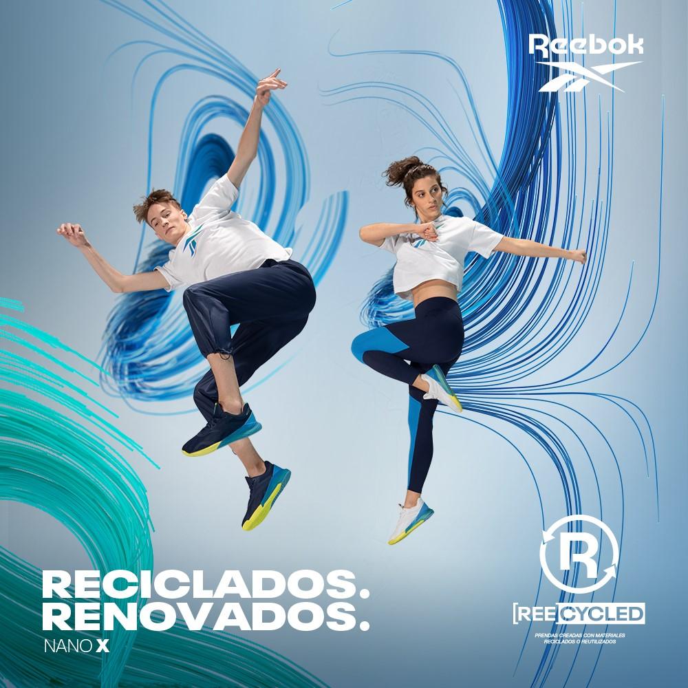 [Ree]cycled, nueva campaña de Reebokque redefine el concepto del #calzado e #indumentaria, presentando prendas de vestir #recicladas, para darle una segunda vida al plástico y creando productos a base de materiales reciclados y reutilizados, en pos de un futuro más #sostenible https://t.co/7T8698PHxC