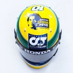 Image for the Tweet beginning: Tribute to Ayrton this weekend.💛 Remembering
