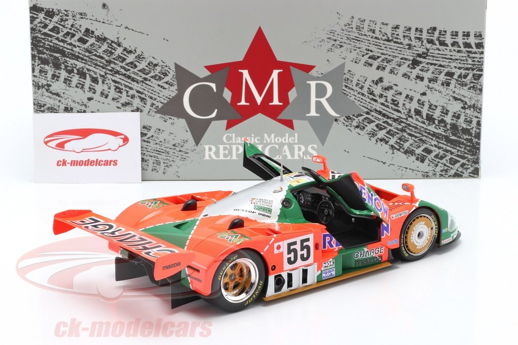 #Mazda 787B winner #24hLeMans #LEMANS24 1991 #Weidler #Herbert #Gachot No 55 #diecast #miniatures #modellautos #modelcars #automodelli scale 1:18 by #CMR check out https://t.co/EpDqZOO3z9 👍👍👍👍👍 https://t.co/QFbEtwQZYo