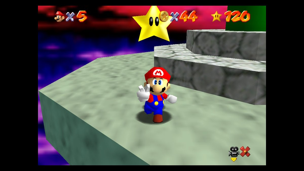 Just as great today as it was in '96!  Next up: time for some Sunshine!  #SuperMario3DAllStars  #NintendoSwitch https://t.co/C3n41Pkctw