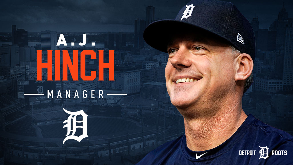 The Detroit Tigers today named A.J. Hinch as the 39th manager in franchise history, agreeing to terms on a multi-year contract. https://t.co/AHALJU1wGw