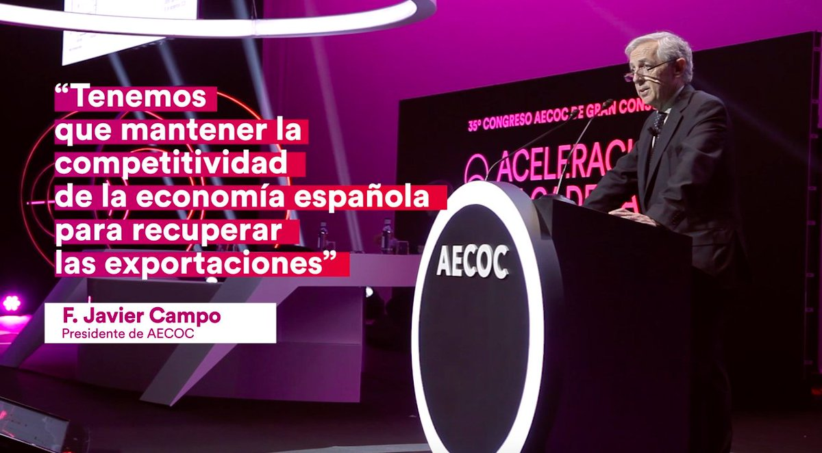 Image for the Tweet beginning: 📹 Nuestro 35º Congreso AECOC,