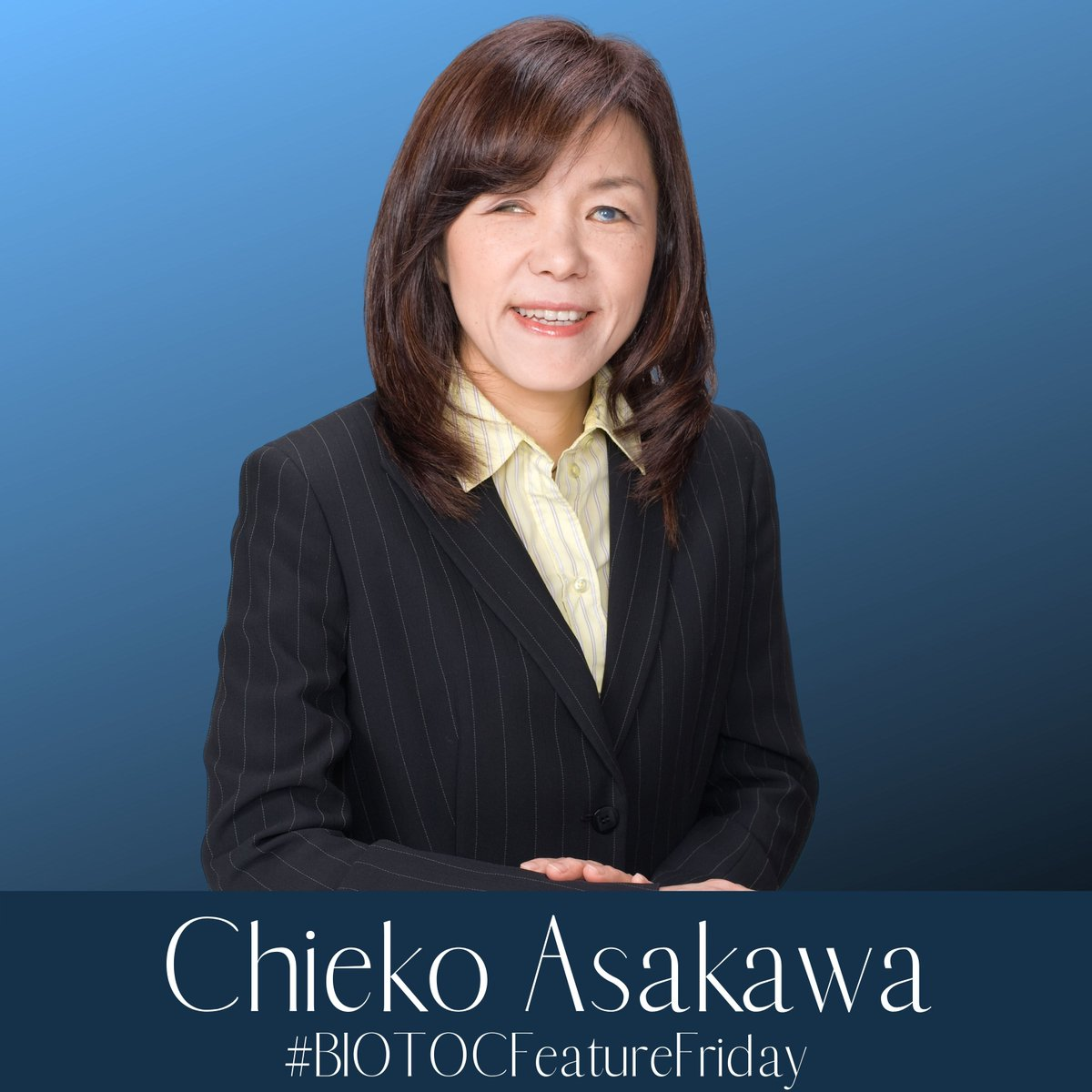 Check out our Instagram page to see our #BIOTOCFeatureFriday of one special #WomaninSTEM in honor of Blindness Awareness Month: Chieko Asakawa.   #FemaleRodeModels #FemaleLeaders #STEM #WomeninTech https://t.co/bkjatLbImD