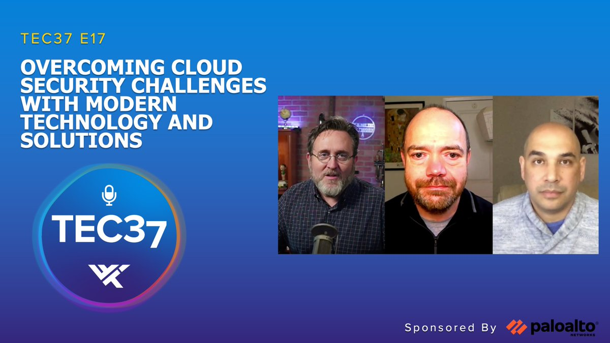 In this TEC37 episode, @wwt_inc experts and Palo Alto Networks' Robert Haynes, covers #security challenges that are both problems and opportunities for today's #cloud journey. Listen here: https://t.co/5nlPmt6qyh https://t.co/zvLnslOGPy