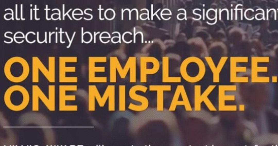 RT @keepnetlabs: One employee. One Mistake. That's all it takes.  https://t.co/7HAcLmyu92  #security #CISO #hacking #socialengineering #phishing #hackers #facebook #breach #privacy #dataprotection #security #CSO #CISO #risk #governance #training #GRC #b… https://t.co/Zo07wzJwFi