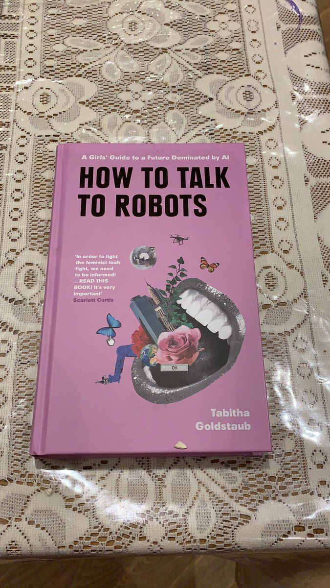 Timely delivery from Amazon. Weekend reading sorted . Look forward to reading through. 😀Congratulations on your book launch @tabithagold !!! #AI #GirlsinTech #womenintech https://t.co/m9SX8AAIJ2